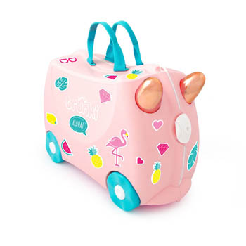 Trunki børnekuffert - Flamingo