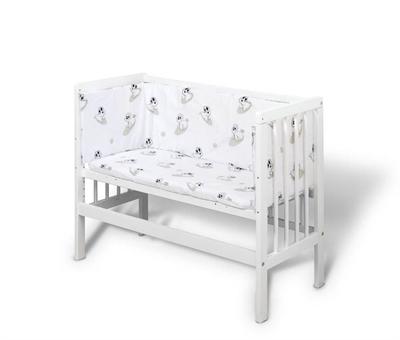 bedside seng BabyTrold Lille Seng, Hvid bedside seng