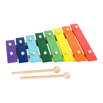 Small Foot Farverig Xylophone