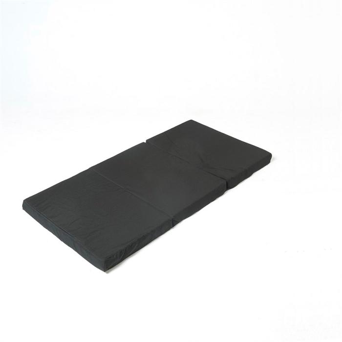 madras til rejseseng Foldemadras, Sort 60x120 cm madras til rejseseng