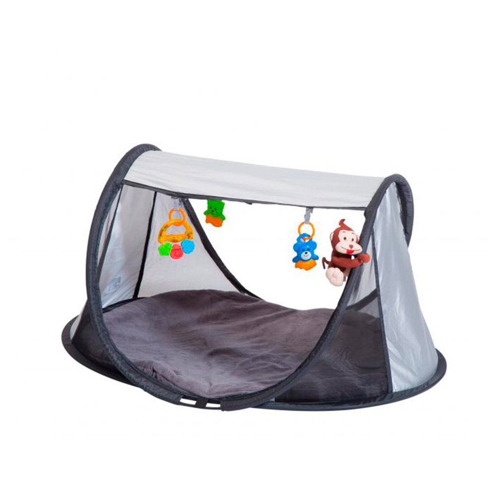 Deryan Pop-up PlayGym, grå