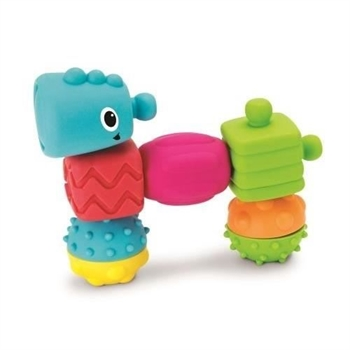 Infantino Sensory Plug & Play Textured Multi Blocks Set