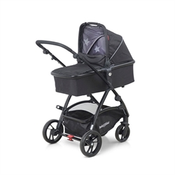 BabyTrold MINI Kombivogn, Sort Star